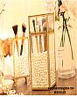 Hộp Đựng Cọ Ngọc Trai Viền Vàng Luxury 2