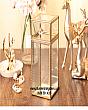 Hộp Đựng Cọ Ngọc Trai Viền Vàng Luxury 4