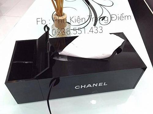 Hộp Đựng Khăn Giấy Chanel