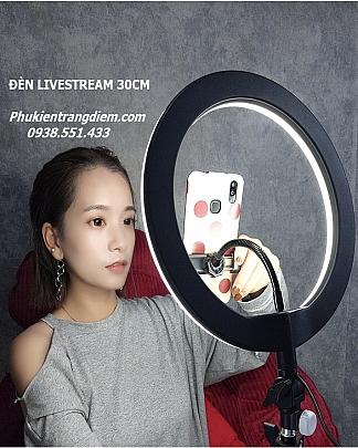 Đèn Livestream Size 30cm (12inch) - Kèm Chân Cao