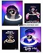 Đèn Livestream Size 30cm (12inch) - Kèm Chân Cao 7