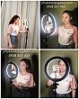 Đèn Hỗ Trợ Livestream - Trang Điểm 26cm 8