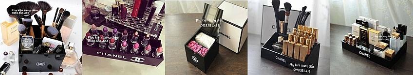 Bán Khay Hộp Chanel Đựng Mỹ Phẩm Trang Điểm