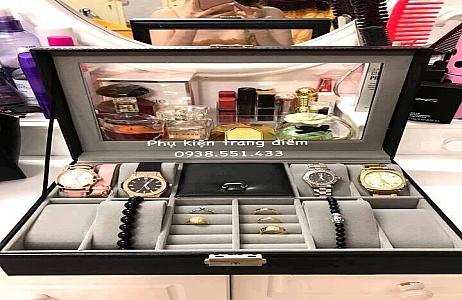 Tổng hợp những mẫu hộp đựng trang sức và đồng hồ nhiều ngăn cực đẹp tại tphcm