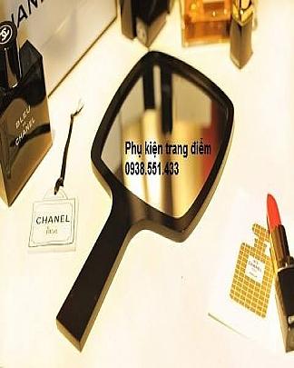 Gương Trang Điểm Chanel Cầm Tay Tròn