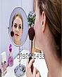Gương Trang Điểm Inox 2 Mặt - Size Lớn 2