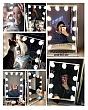 [Cao 36cm - 7 LED] Gương Trang Điểm Đèn LED Cảm Ứng Để Bàn 4