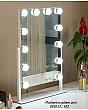 [Cao 46cm - 12 LED] Gương Trang Điểm Đèn LED Cảm Ứng Để Bàn