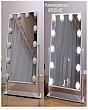 [Cao 46cm - 12 LED] Gương Trang Điểm Đèn LED Cảm Ứng Để Bàn 7
