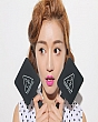 Gương trang điểm cầm tay 3CE mini 4