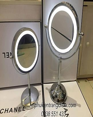 Gương Trang Điểm Phóng To Có Đèn Led - Size Lớn