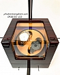[Có Đèn] Hộp Lắc Đồng Hồ Cơ - 2 Ngăn Xoay 3