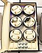 Tủ Hộp Đựng Đồng Hồ Cơ - 12 Xoay + 4 Cố Định [Có Đèn Led] 4