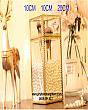 Hộp Đựng Cọ Ngọc Trai Viền Vàng Luxury 1