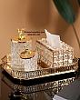 Khay Mạ Vàng Đựng Nước Hoa & Đồ Trang Trí - Vuông 1