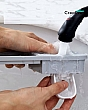Kệ Để Nhà Tắm Treo Bàn Chải Nhả Kem Đánh Răng Tự Động - 3 Cốc 8