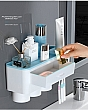Kệ Để Nhà Tắm Treo Bàn Chải Nhả Kem Đánh Răng Tự Động - 3 Cốc 3