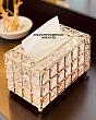 Hộp Đựng Khăn Giấy Pha Lê Diamond