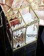 Hộp Đựng Bông Tẩy Trang & Tăm Bông Golden 4