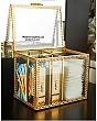 Hộp Đựng Bông Tẩy Trang & Tăm Bông Golden 1