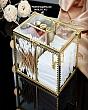 Hộp Đựng Bông Tẩy Trang & Tăm Bông Golden 8