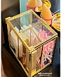 Hộp Đựng Bông Tẩy Trang & Tăm Bông Golden 5