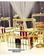 Hộp Đựng Son 24 Ô Có Nắp Viền Vàng Golden 7