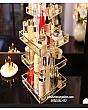 Kệ Khay Đựng Mỹ Phẩm Golden Xoay 360 Độ - Vuông 1