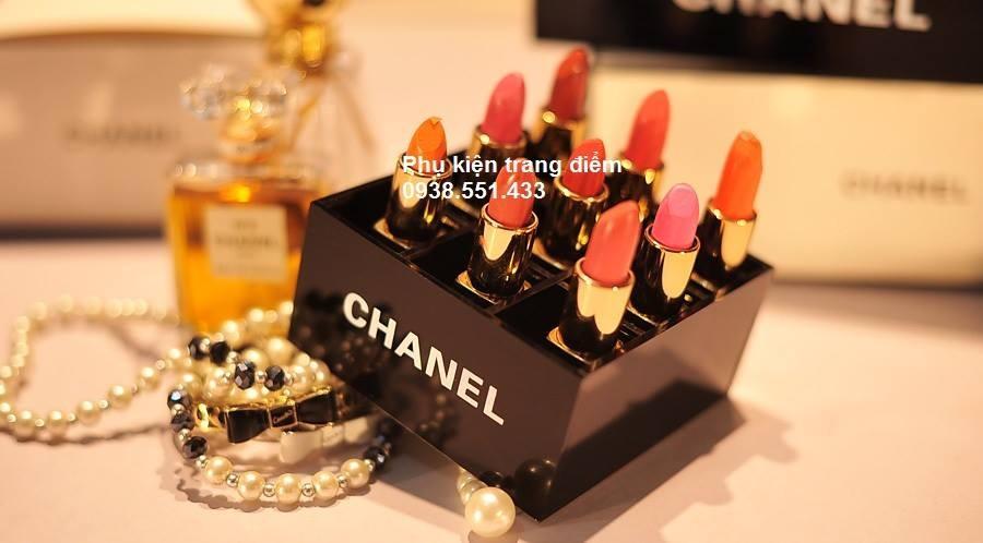 Khay đựng son Chanel Đen bóng siêu đẹp