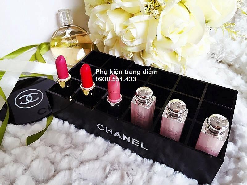 Khay son cực sang trọng đẹp Chanel