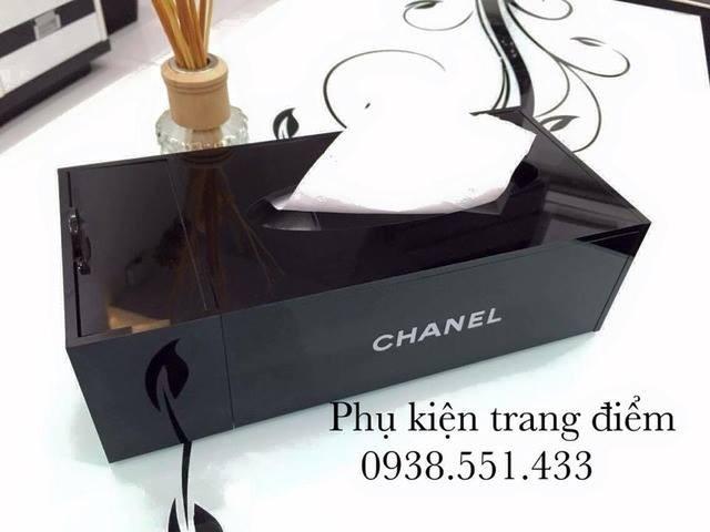 Hộp Chanel đựng khăn giấy TPHCM