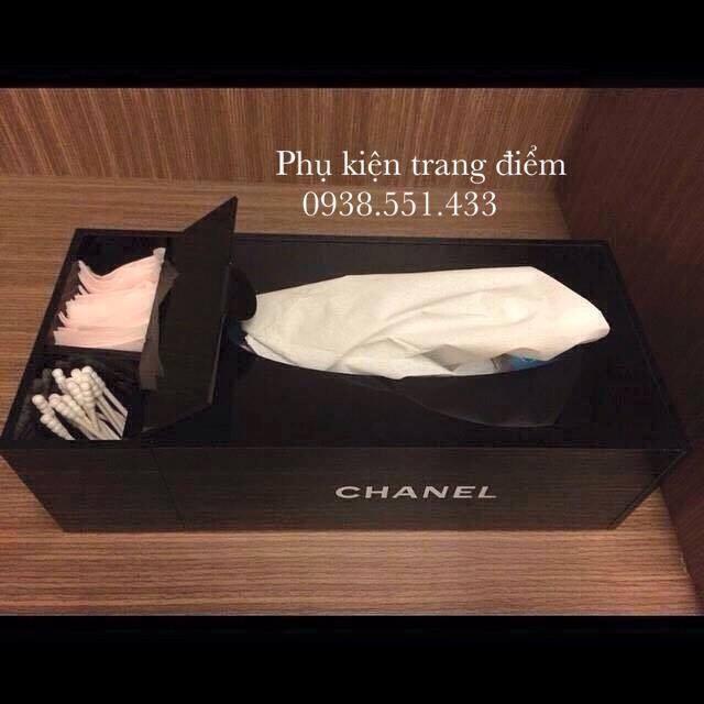hộp đựng khăn giấy Chanel SG