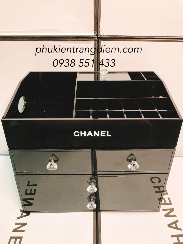Khay Kệ Chanel Đựng Mỹ Phẩm Trang Điểm Nhiều Tầng