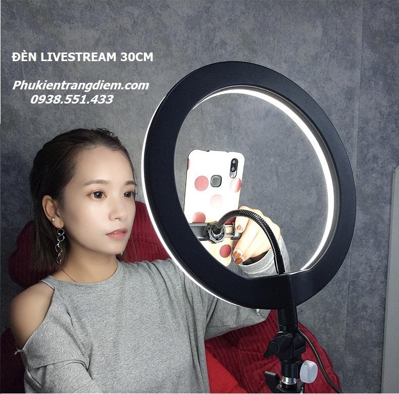 đèn trợ sáng livestream đẹp da hỗ trợ bán hàng 30cm giá rẻ