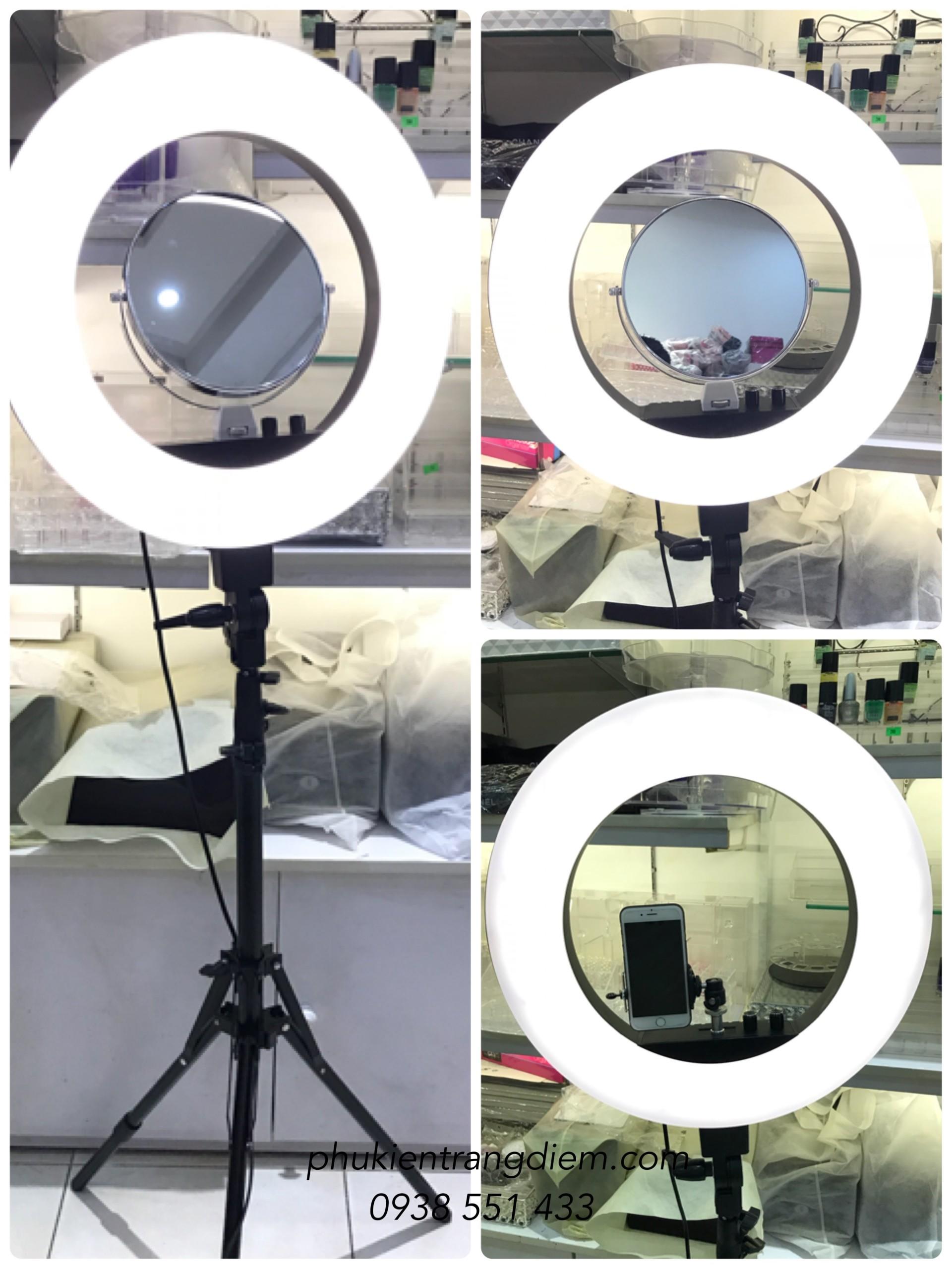 Đèn hỗ trợ LiveStream, Trang Điểm , Make up studio chuyên nghiệp cao cấp