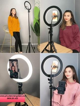 đèn livestream trang điểm 26cm cao cấp giá rẻ tại tphcm