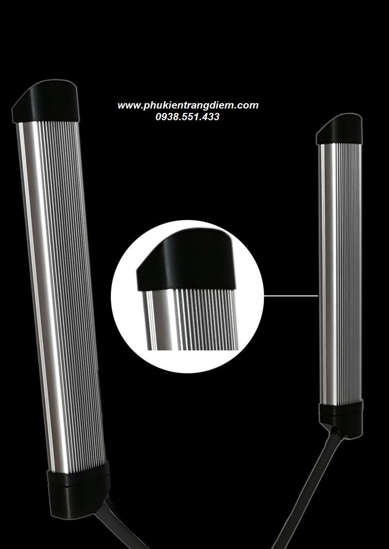 đèn hỗ trợ spa livestream phun xăm trang điểm 2 râu glamcor giá rẻ