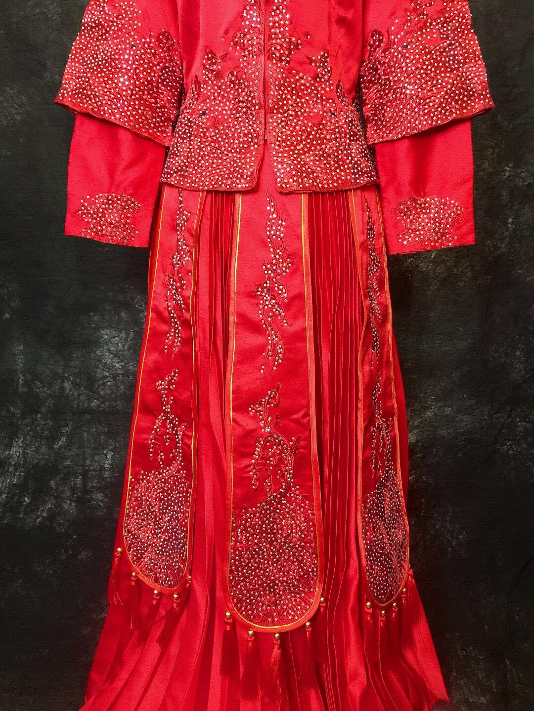 Váy cưới phong cách trung hoa