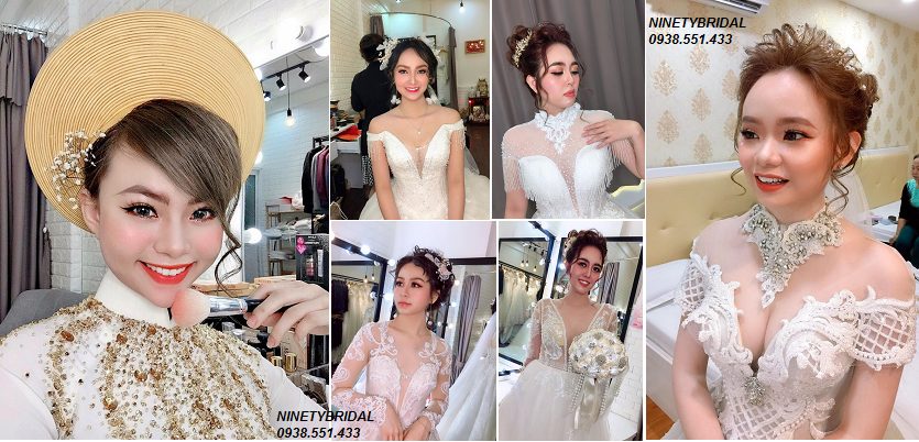 cho thuê đồ cưới váy cưới áo dài cưới trang điểm cô dâu tphcm