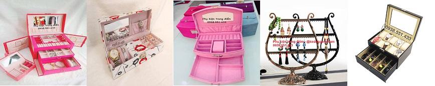 hộp kệ đựng trang sức, nữ trang đẹp cao cấp giá rẻ ở tphcm