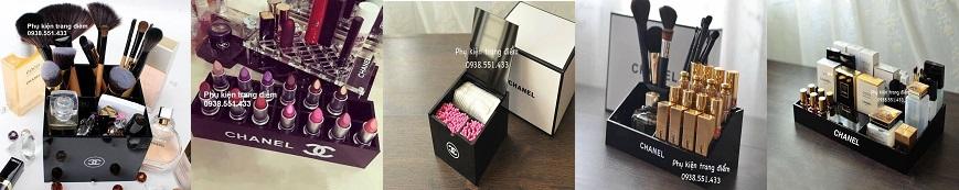 hộp khay mỹ phẩm Chanel cao cấp giá rẻ ở tphcm