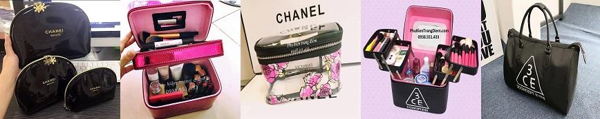 túi bóp đựng mỹ phẩm đồ trang điểm đẹp cao cấp giá rẻ