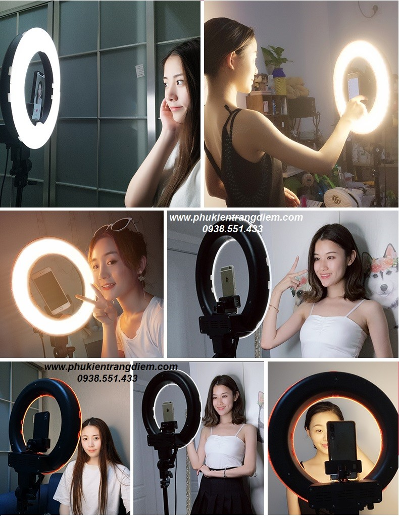 bán đèn led livestream hỗ trợ bán hàng make up hiệu quả giá rẻ