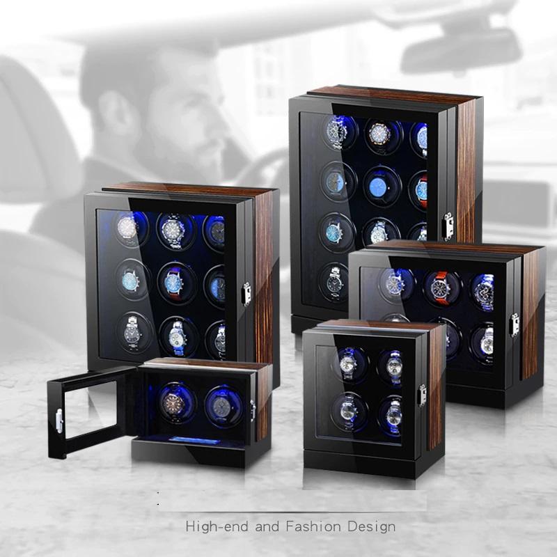 Tủ xoay đựng đồng hồ cơ tự động quay cao cấp giá rẻ