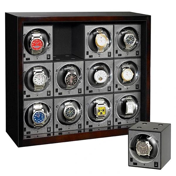 hộp xoay đựng đồng hồ cơ tự động quay cao cấp giá rẻ