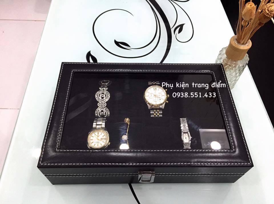 Hộp đồng hồ màu đen