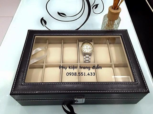 mẫu hộp đồng hồ da xịn tại fb.com/pg/kedungmypham