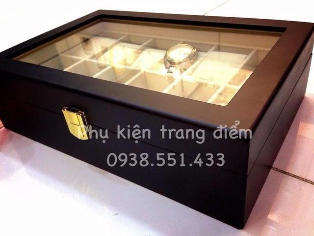 Hộp đồng hồ đep sang trọng dành tặng khách hàng người thân