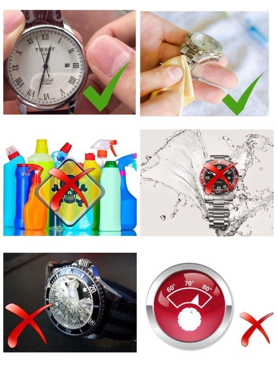 cách bảo quản đồng hồ