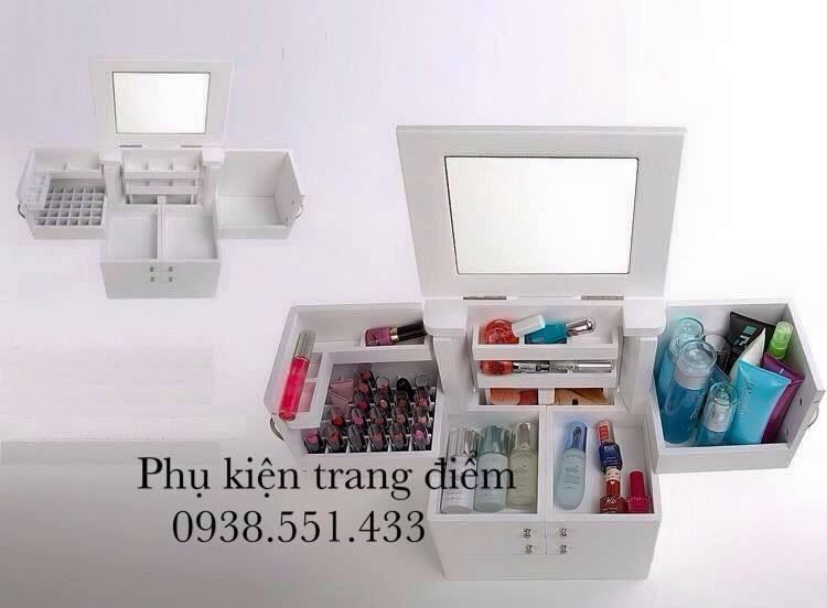 Kệ tủ gỗ đựng kèm nhiều mẫu mã đẹp tai phukientrangdiem.com